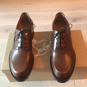 Men's Christian Louboutin Brown Shoes - BRAND NEW